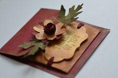 Vintage Handmade Card & Envelope