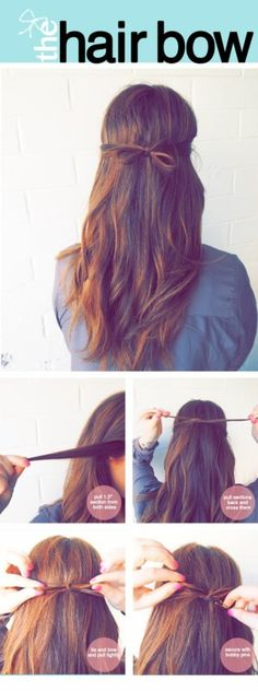 Hair little bow tutorial