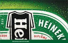 Heineken Rugby Shirt #ad #concept #heineken