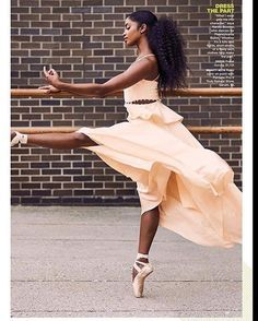Brown Girls DO Ballet® — Pennsylvania Ballet's Nardia Boodoo ( Black Dancers, Ballet Dancers, Ballerinas, Ballet Beautiful, My Black Is Beautiful, Dance Photos, Dance Pictures, Black Women Art, Black Art
