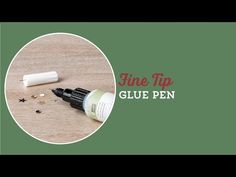 Fine-Tip Glue Pen by Stampin' Up! - YouTube