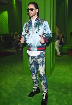 Jared Leto Mens Fashion Week, 90s Fashion, Milan Men s Fashion Week, Men  Fashion 0d0e07db18