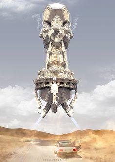 Dustdevil by col price | Sci-Fi | 2D | CGSociety
