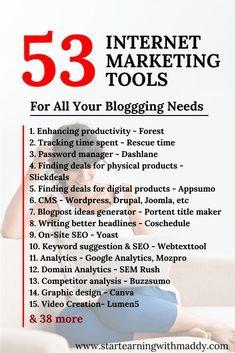 53 Digital Marketing Tools Every Internet Marketer Needs - SEO Backlink Analysis - SEO Tools to keep track of your rank. - 53 Digital Marketing Tools For Succeeding In Internet Marketing Affiliate Marketing, E-mail Marketing, Digital Marketing Strategy, Business Marketing, Content Marketing, Business Tips, Social Media Marketing, Marketing Ideas, Marketing Branding