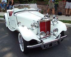 1954 MG TD Mark II