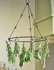 This herb drying rack is a thoughtful gift for anyone growing their own herbs.