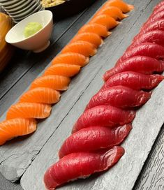 [New] The 10 Best Food Today (with Pictures) Salmon Sashimi, Nigiri Sushi, Good Food, Yummy Food, Sushi Rolls, Ceviche, Sweet And Salty, Korean Food, Japanese Food