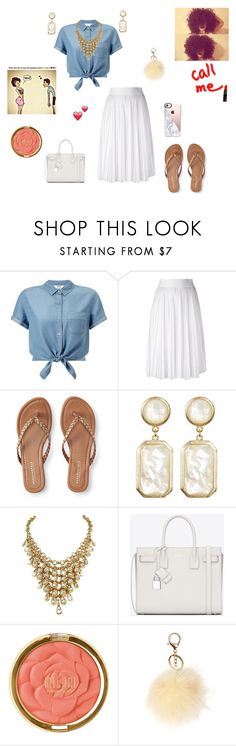 """If Only It Wasnt Raining :/"" by queenraina1 on Polyvore featuring Miss Selfridge, Givenchy, Aéropostale, Rivka Friedman, Yves Saint Laurent and Milani"