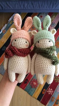 crochet amigurumi rabbit design PATTERN Bunny bear amigurumi pattern by Kedito PDF FILE - Crochet Diy, Easy Crochet Projects, Crochet Gifts, Crochet Bear, Scarf Crochet, Crochet Patterns Amigurumi, Crochet Dolls, Knitting Patterns, Amigurumi Doll