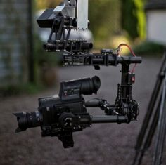 Sneak Peek of Motion Picture Hire's Crane With Brushless Gimbal: