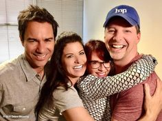 The cast of 'Will and Grace' reunited. ~ E! News