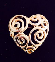 A personal favorite from my Etsy shop https://www.etsy.com/listing/263349273/valentine-heart-brooch-vintage-quality