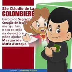 São Cláudio de La Colombiere desenho