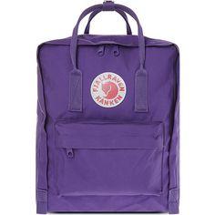 Fjallraven Kånken backpack (4.670 RUB) ❤ liked on Polyvore featuring bags, backpacks, fjallraven daypack, purple backpack, fjallraven bag, backpack bags and day pack backpack