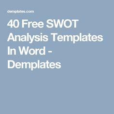 Swot Analysis Image   Work    Swot Analysis And Template