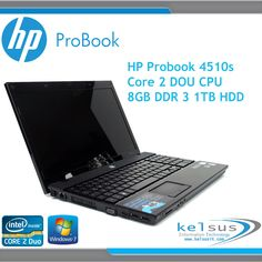 Reconditioned HP ProBook Laptop Core 2 Duo CPU- 8GB DDR3 - 1TB HDD - HDMi in Computers/Tablets & Networking, Laptops & Netbooks, PC Laptops & Netbooks | eBay