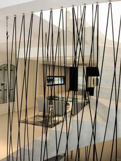 escalier garde corde escalier pinterest cordes. Black Bedroom Furniture Sets. Home Design Ideas