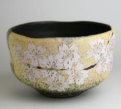 Sakura Chawan - Kyoko Shimada.. @ivannairem https://tr.pinterest.com/ivannairem/ceramics-pottery-l/