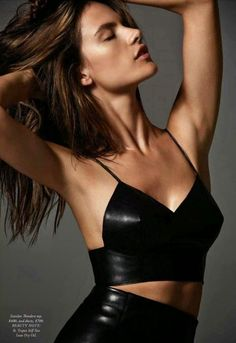 Alessandra Ambrosio – Harper's Bazaar Magazine (Australia) – October 2014 Issue
