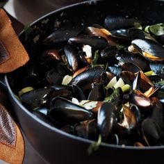 Mussels with Fennel and Lovage Recipe