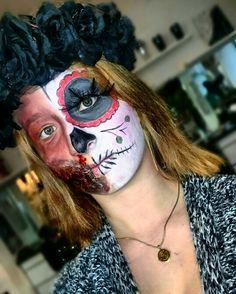 Sugar Skull n' Chelsea Smile #makeupartist #makeup #specialmakeup