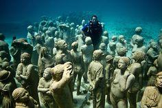 Estatuas subacuáticas de Jason Caires Taylor