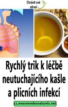 Rychlý trik k léčbě neutuchajícího kašle a plicních infekcí