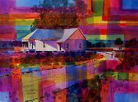 delta evening - American artist Gary Walters