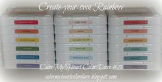 Color My Heart Color Dare #5 Create Your Own Rainbow! Use 3, 5 or 7 Colors