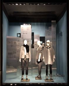 "LA RINASCENTE, Milan, Italy, ""Big City Madness, Comfort my Soul"",  for MaxMara, pinned by Ton van der Veer"
