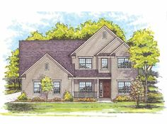 Eplans Traditional House Plan - Four Bedroom Traditional - 2275 Square Feet and 4 Bedrooms from Eplans - House Plan Code HWEPL68511