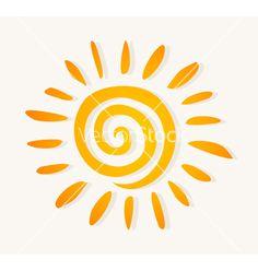 Sun logo vector 528324 - by aleksander1 on VectorStock®