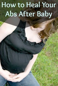 Healing your abs after pregnancy: How to Heal Diastasis Recti - Grassfed Mama