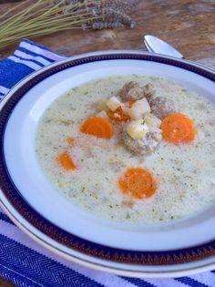 Csorbaleves GastroHobbi módra - GastroHobbi Cheeseburger Chowder, Hummus, Mac, Soup, Ethnic Recipes, Soups, Poppy
