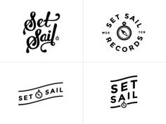 Set Sail Logos