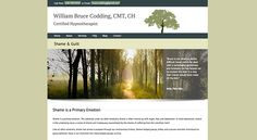 Website design by Two Hats Consulting for therapist William Bruce Codding, CMT, CH