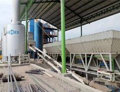 ALQ80 Batch Type Asphalt Plant in Indonesia - Aimix Construction Machinery