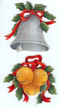 Christmas Bell Decorations Christmas Reindeer Clothespin Hand Paintedsugarandpaint