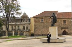 Antonio Nariño's statue on Palace of Nariño-BOGOTÁ