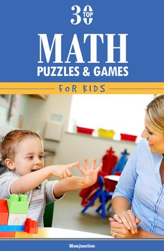 Top 30 Math Games And Puzzles  For Kids: here are 25 maths puzzles for kids with answers that will make learning arithmetic a fun-filled rather than an arduous task.