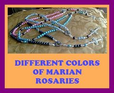 Rosaries for sale.