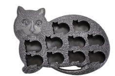 Amazon Cat Shape 10-Ice Cube Tray Mold