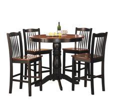 Homelegance 2458-36 5-Piece Round Counter Height Dining Set Homelegance,http://www.amazon.com/dp/B0088WB0KG/ref=cm_sw_r_pi_dp_uZ3otb03TZFQ0J2Y