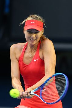 Maria Sharapova Photos - Australian Open: Day 5 - Zimbio