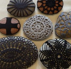 Lace Crochet Stone Collection by Monicaj on Etsy.com  CLICK IMAGE TO LEARN MORE