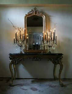 Candelabras halloween decor