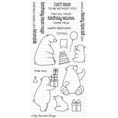 Birthday Bears Stamp Set