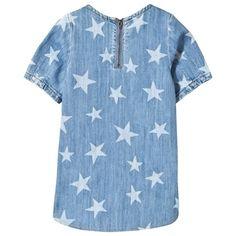 Blue Denim Star Bess Dress