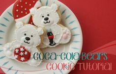 Klickitat Street: Coca-Cola Polar Bear Cookie Tutorial