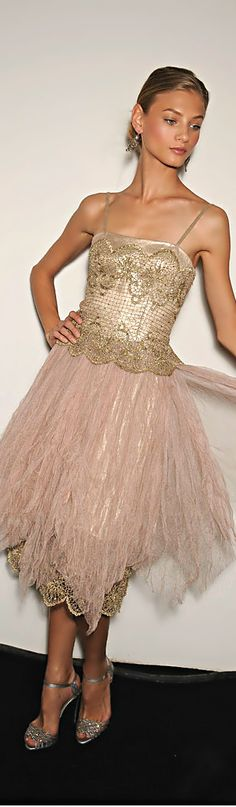 Love this dress.  It looks like something a ballerina would wear.  Ralph Lauren via @MartiHart. #RalphLauren #dresses